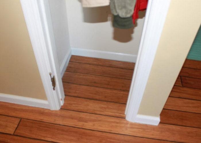 Wood Floor Closet
