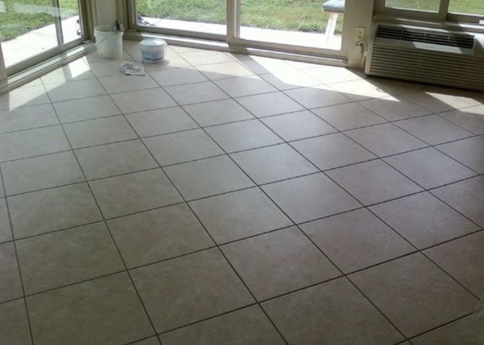 Tile Floor Sample