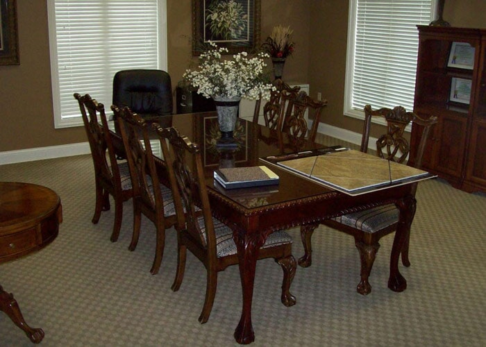 dining room carpet sample