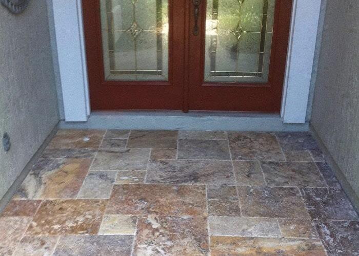 Flooring Sample Front Door