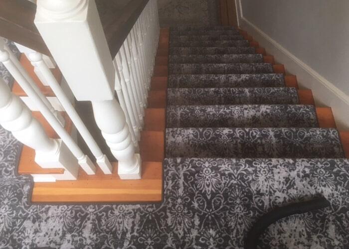 Stair runner in Seattle, WA from Vogel's Carpet & Flooring
