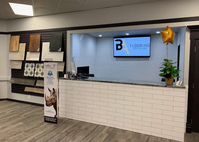 The BA Flooring & Design LLC showroom has everything for your Tulsa, OK home
