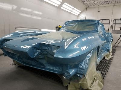 1965 Corvette Blue