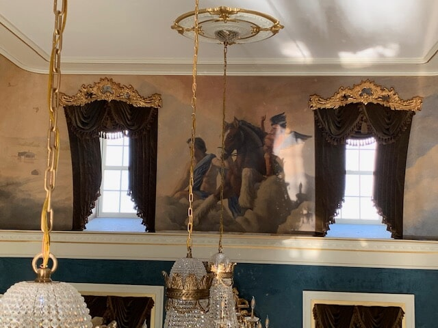 Ornate window treatments in Amissville, VA from Early's Flooring Specialists & More