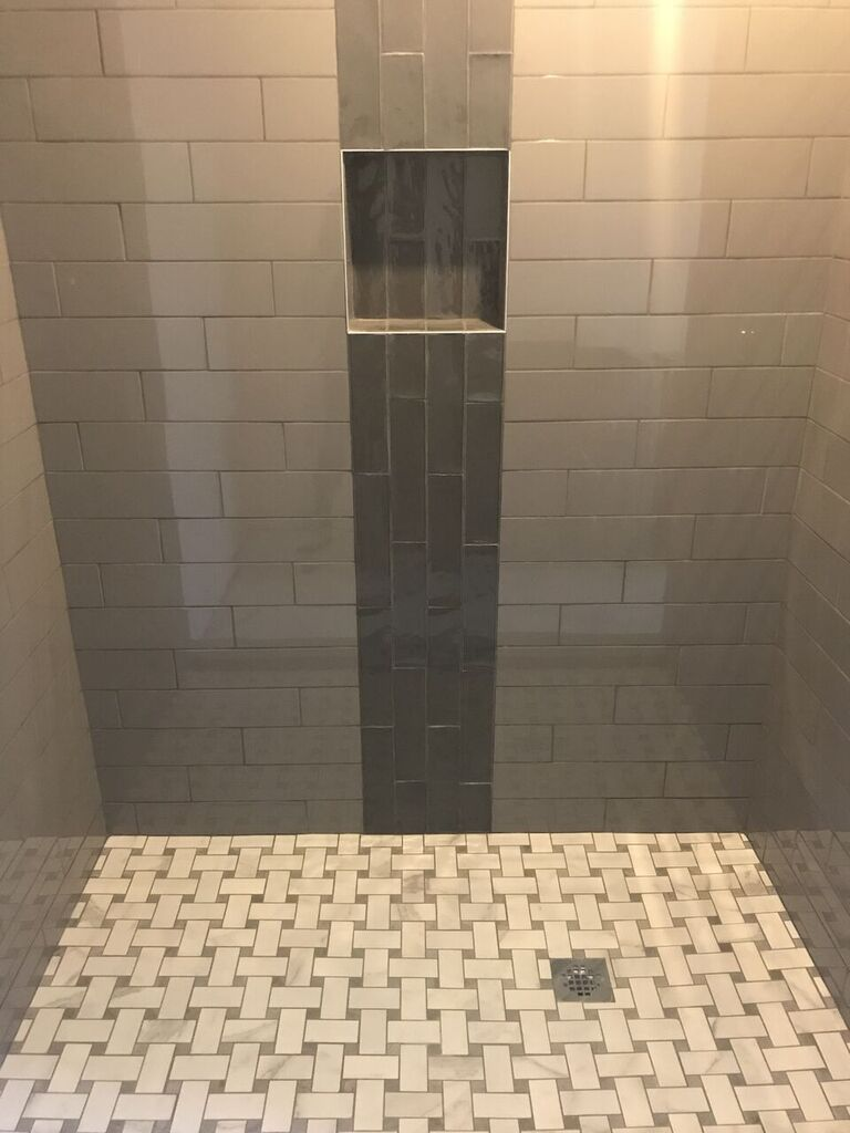 Shower tiles in Tulsa, OK from Superior Wood Floors & Tile
