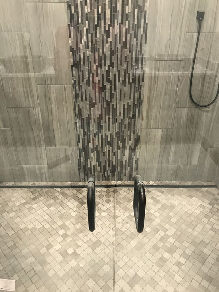 Shower tile in Owasso, OK from Superior Wood Floors & Tile