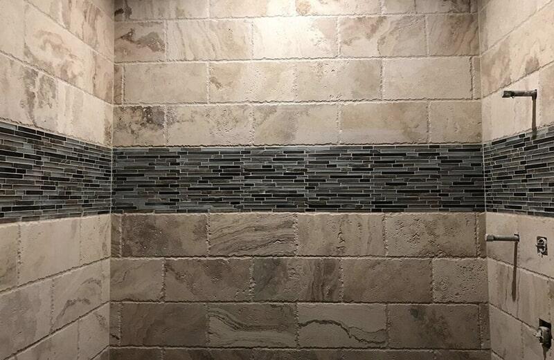 Shower tiles in Broken Arrow, OK from Superior Wood Floors & Tile