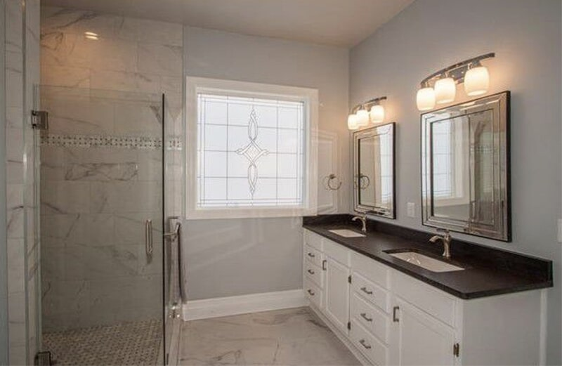 Bathroom remodel in Tulsa, OK from Superior Wood Floors & Tile