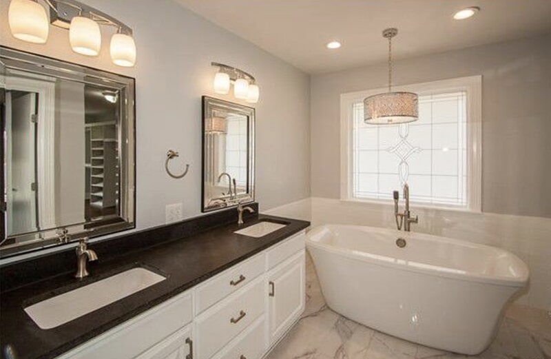 Bathroom countertops in Jenks, OK from Superior Wood Floors & Tile