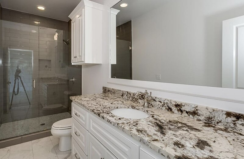Bathroom countertops in Bixby, OK from Superior Wood Floors & Tile