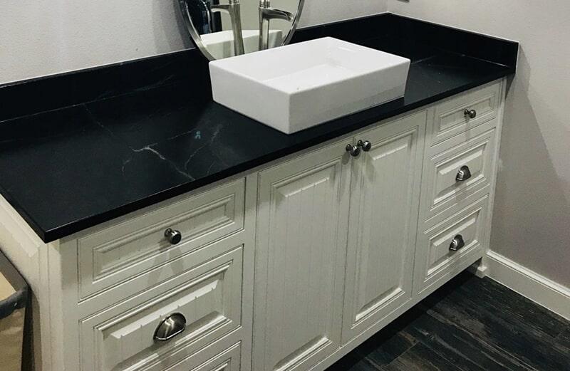 Bathroom countertops in Owasso, OK from Superior Wood Floors & Tile