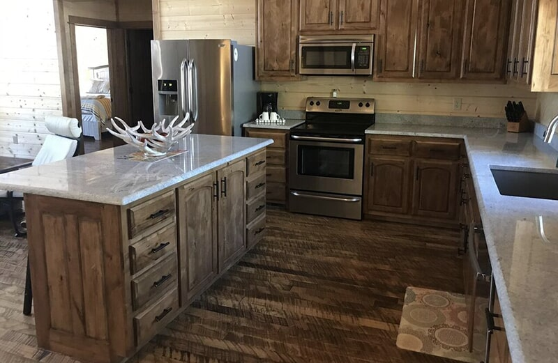 Kitchen cabinets in Jenks, OK from Superior Wood Floors & Tile