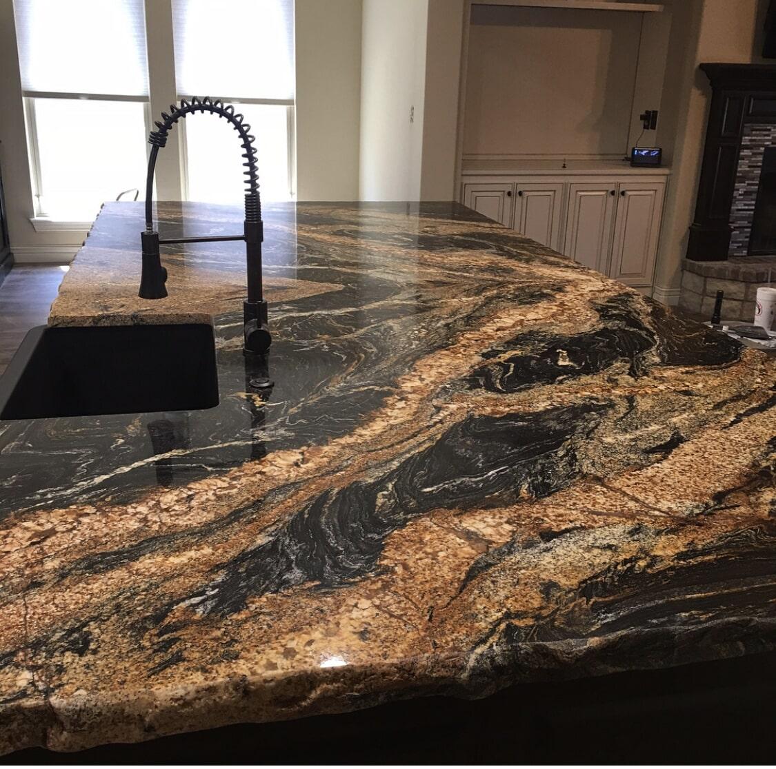 Kitchen countertop in Tulsa, OK from Superior Wood Floors & Tile