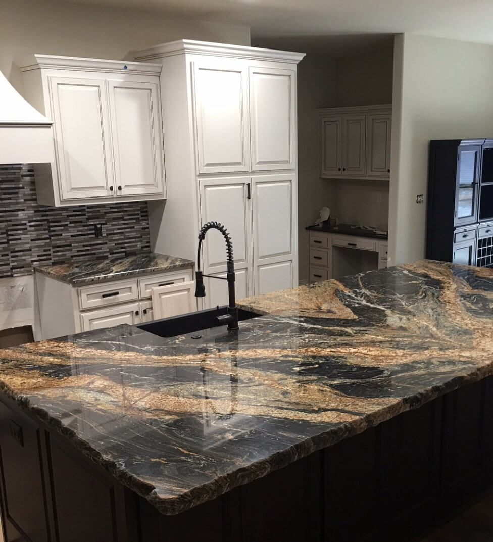 Kitchen counters in Jenks, OK from Superior Wood Floors & Tile