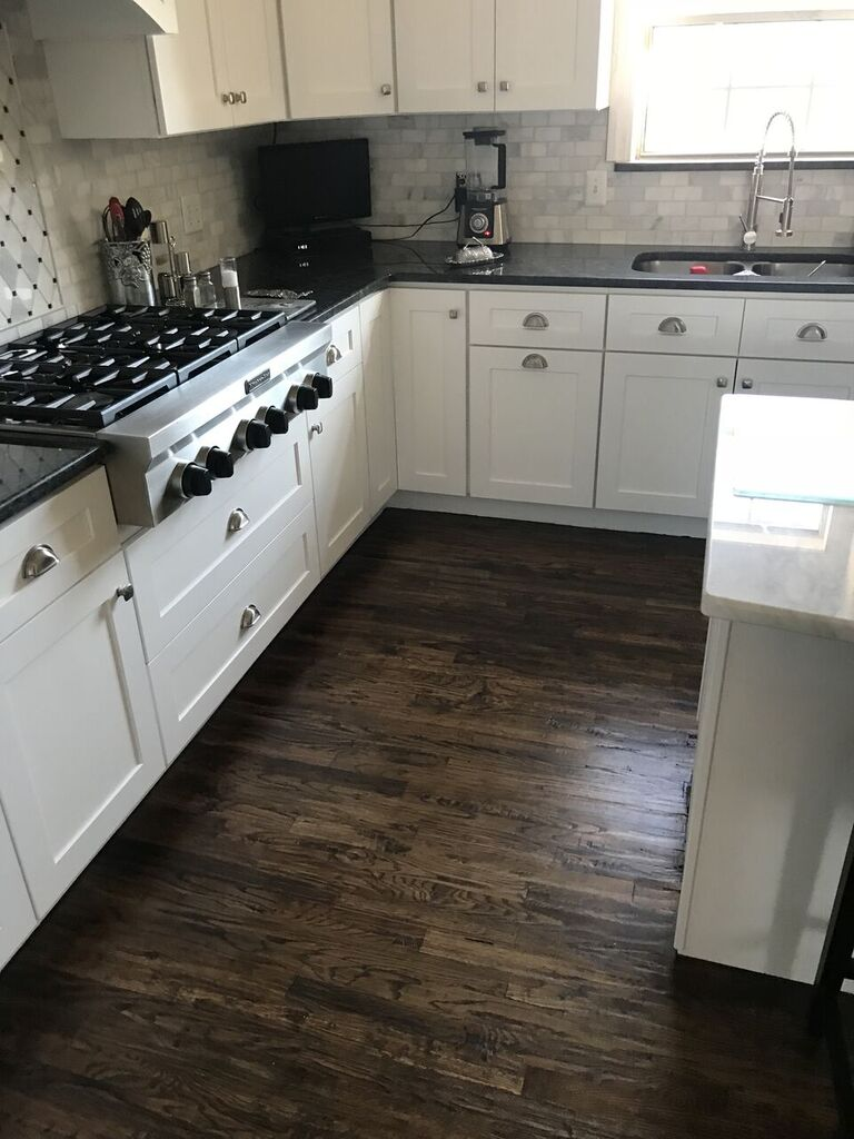 Kitchen cabinets in Owasso, OK from Superior Wood Floors & Tile