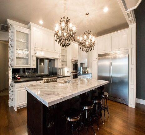 Kitchen cabinets in Broken Arrow, OK from Superior Wood Floors & Tile