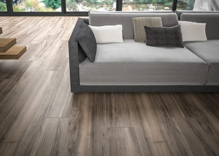 Wood look tile in Sarasota, FL from Floors and Walls of Distinction