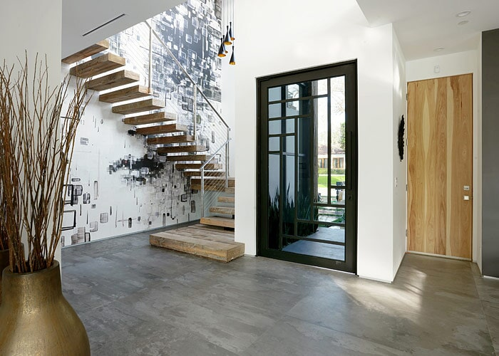Tile in entryway in Sarasota, FL from Floors and Walls of Distinction