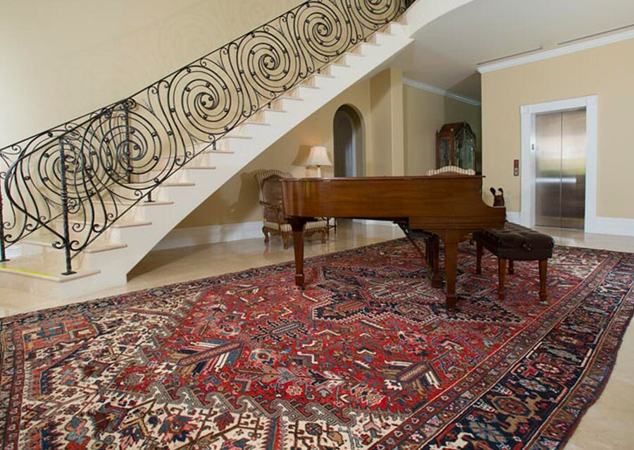 Colorful area rugs in Grand Cayman from Rugs Oriental