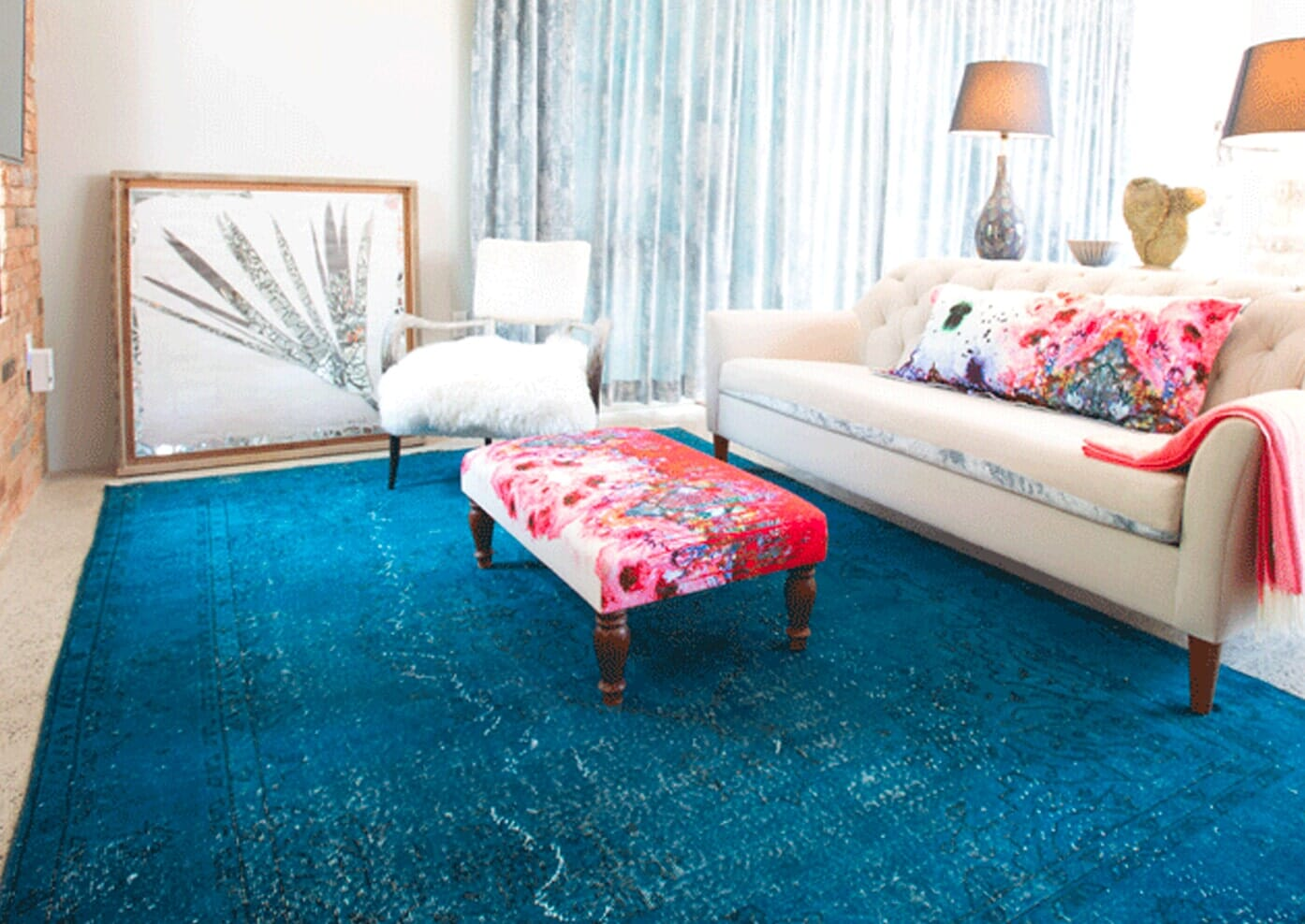 Vintage Overdyed Rugs in Grand Cayman from Rugs Oriental