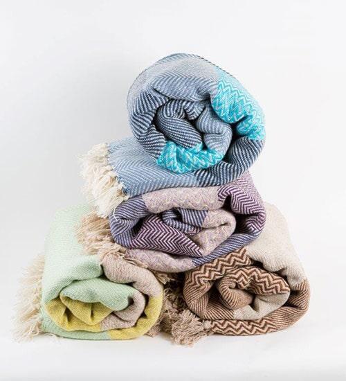 Cotton Throws Handwoven in Turkey