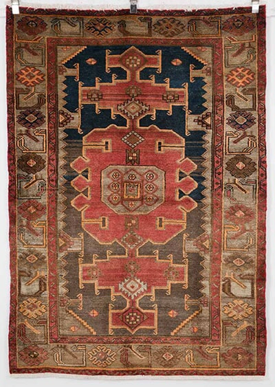 Vintage Tribal/Village Rug Handmade in Iran