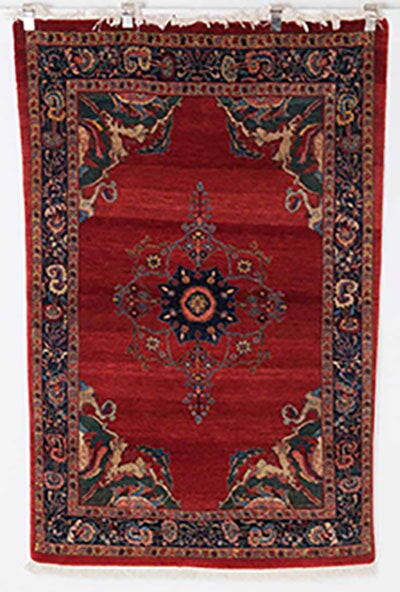Traditional Bidjar Rug Handmade in Iran