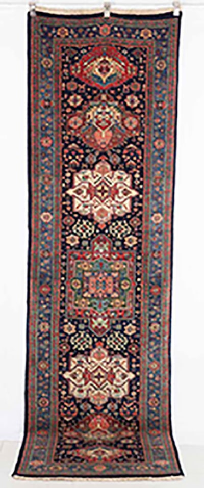 Traditional Azeri Runner Handmade in Iran