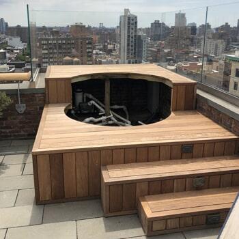 Custom flooring work by Sota Floors in New York, NY