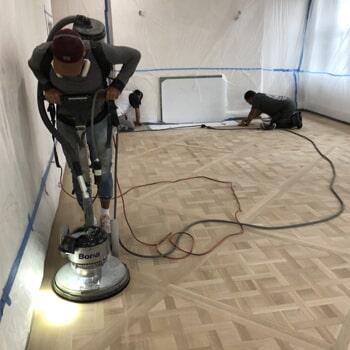 Work in progress flooring