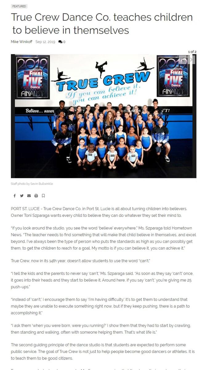 Sep 13 2019 newspaper Article-min
