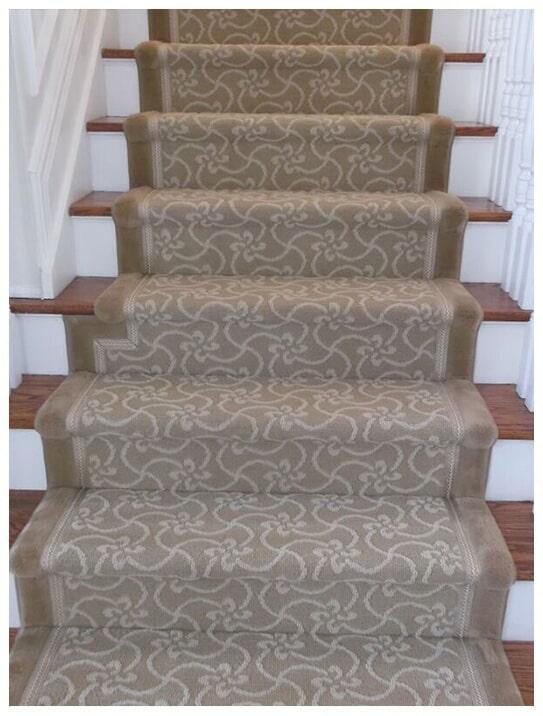 Custom stair runner in Ridgewood, NJ from G. Fried Flooring & Design