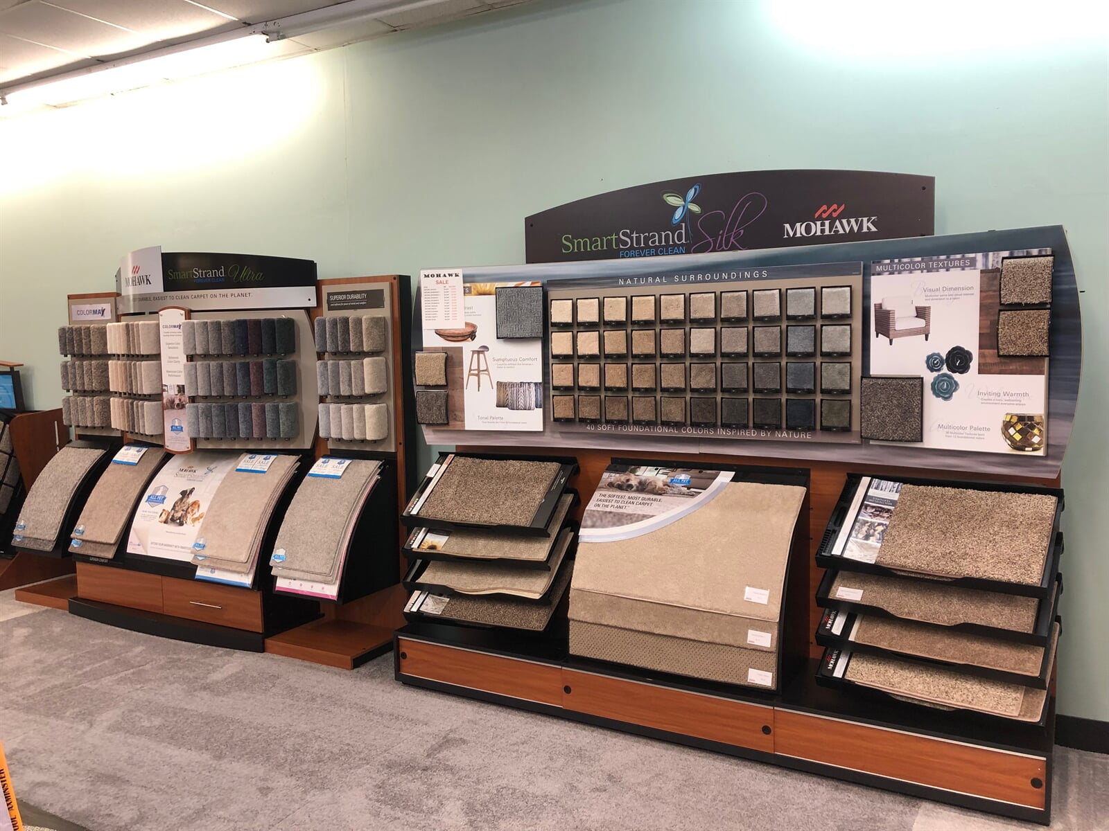 SmartStrand carpet options in New River Valley, VA from The Floor Source