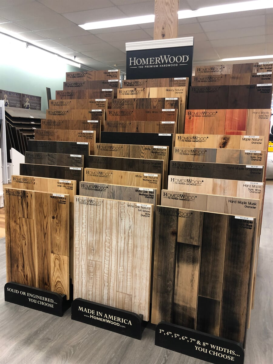 Homerwood Premium Hardwoods in Lynchburg, VA from The Floor Source