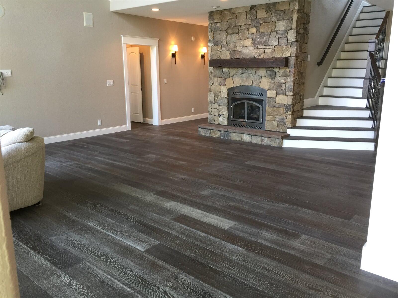Modern wood look flooring in Lynchburg, VA from The Floor Source