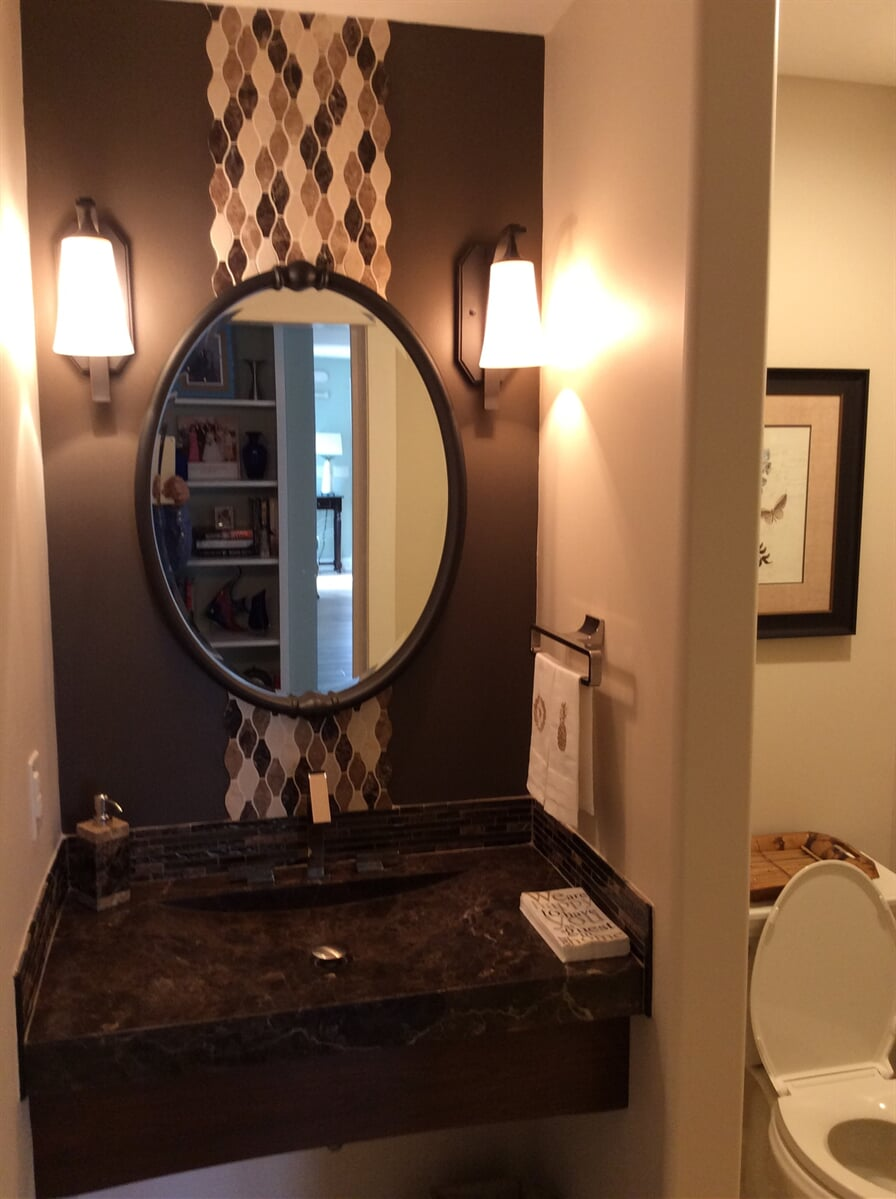 Custom bathroom vanity in Roanoke, VA from The Floor Source