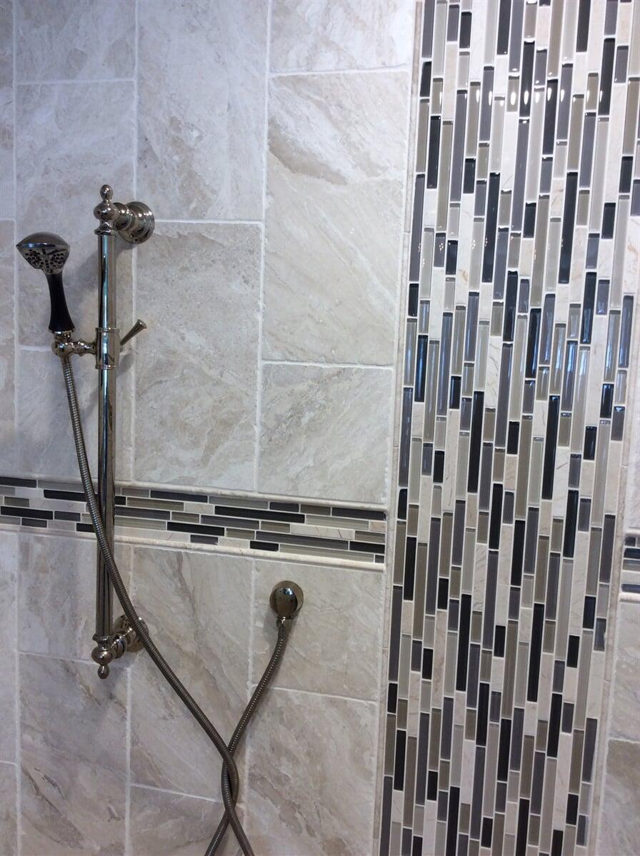 Custom glass tile work in Lynchburg, VA from The Floor Source