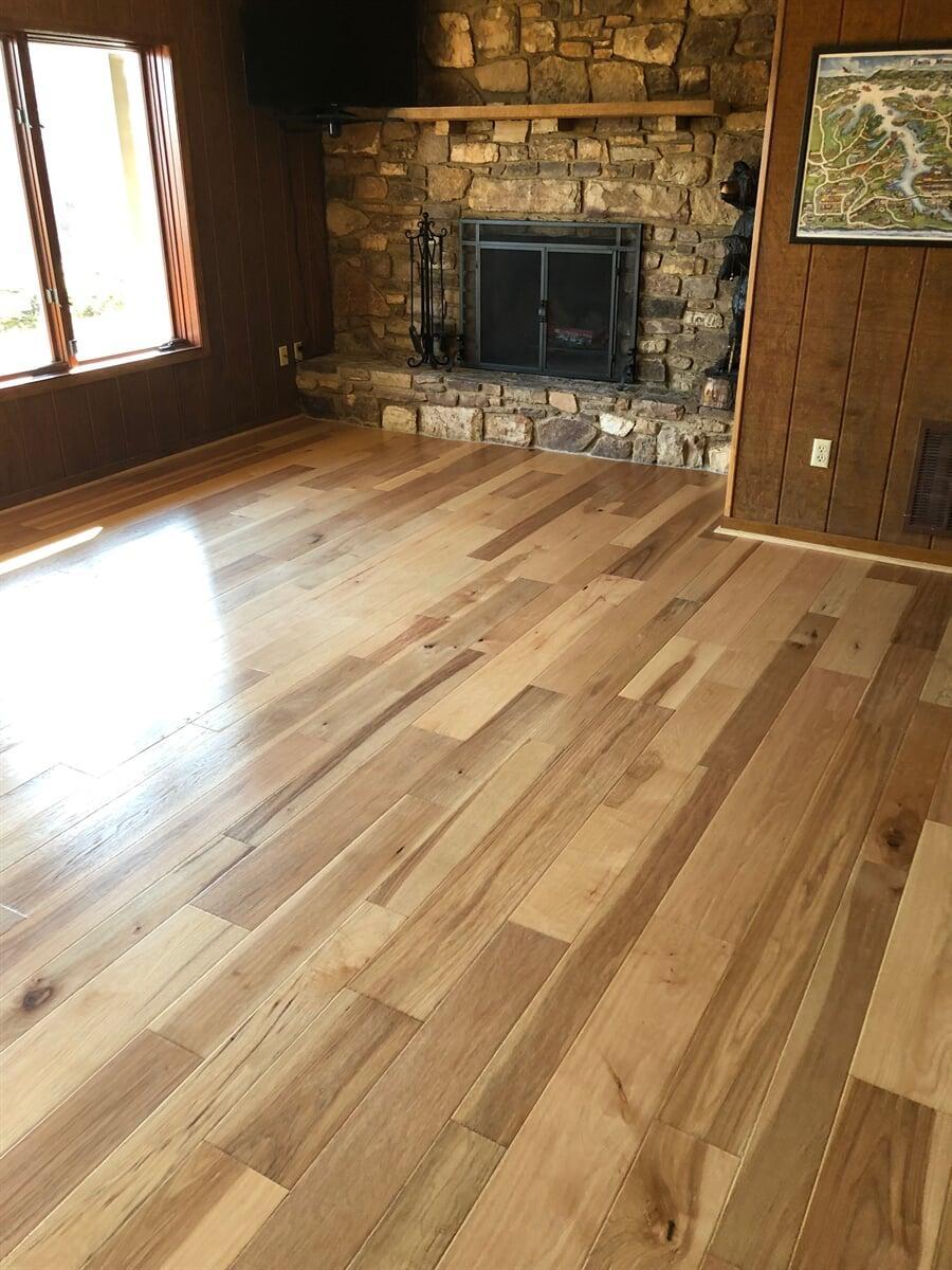 Modern hardwood flooring in  from The Floor Source