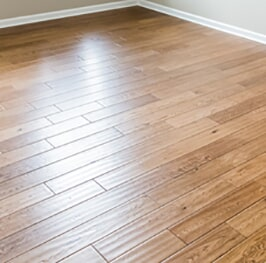 Engineered hardwood installation from Artizan Flooring in Lakeville, IN