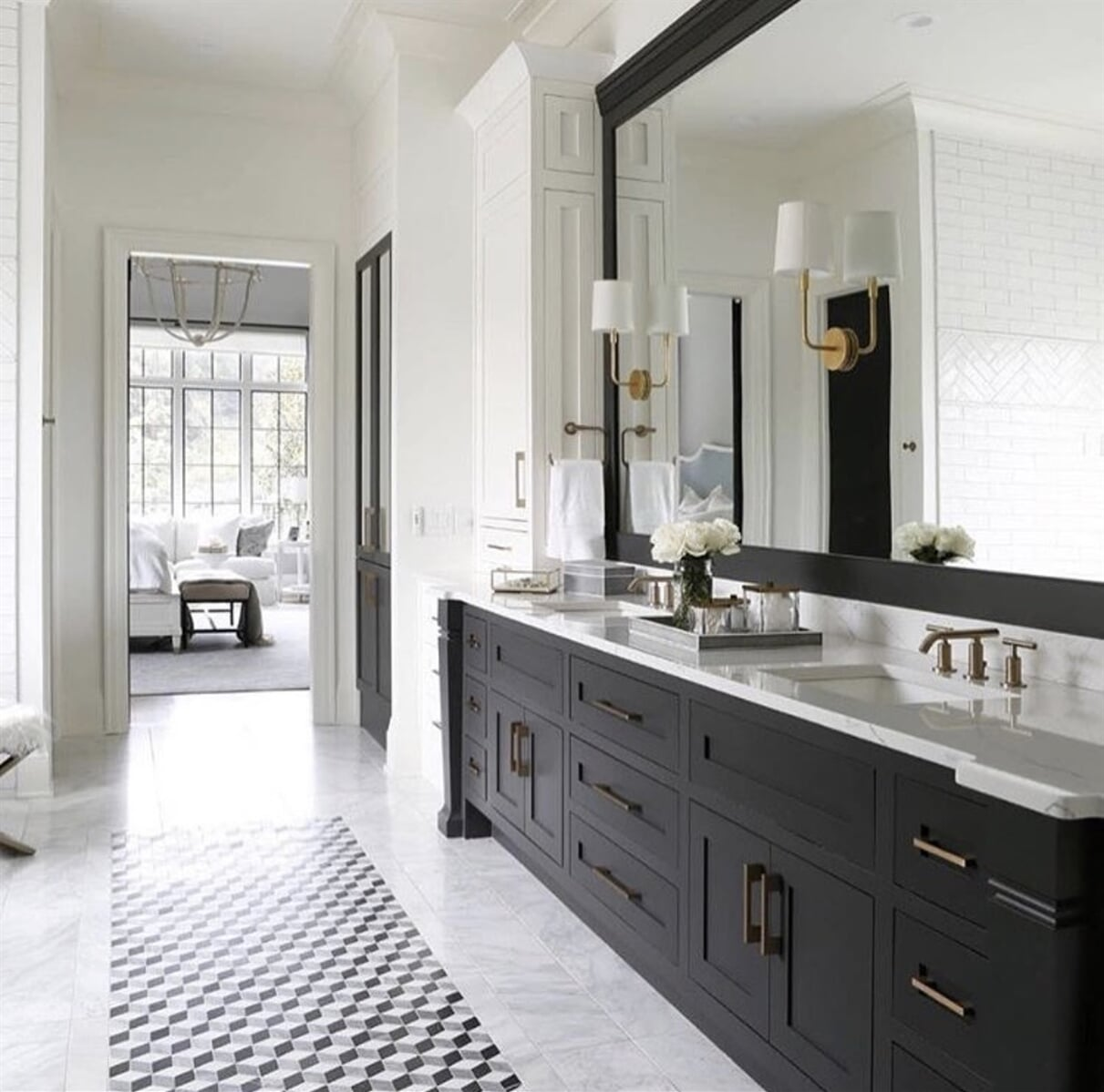 Elegant Bathroom Tile Installation in Suwanee, GA