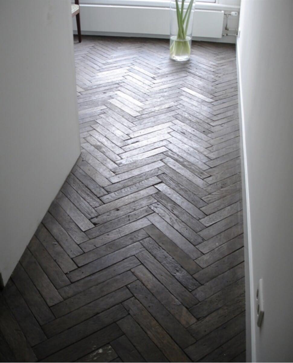 Herringbone Tile Install in Sugar Hill, GA
