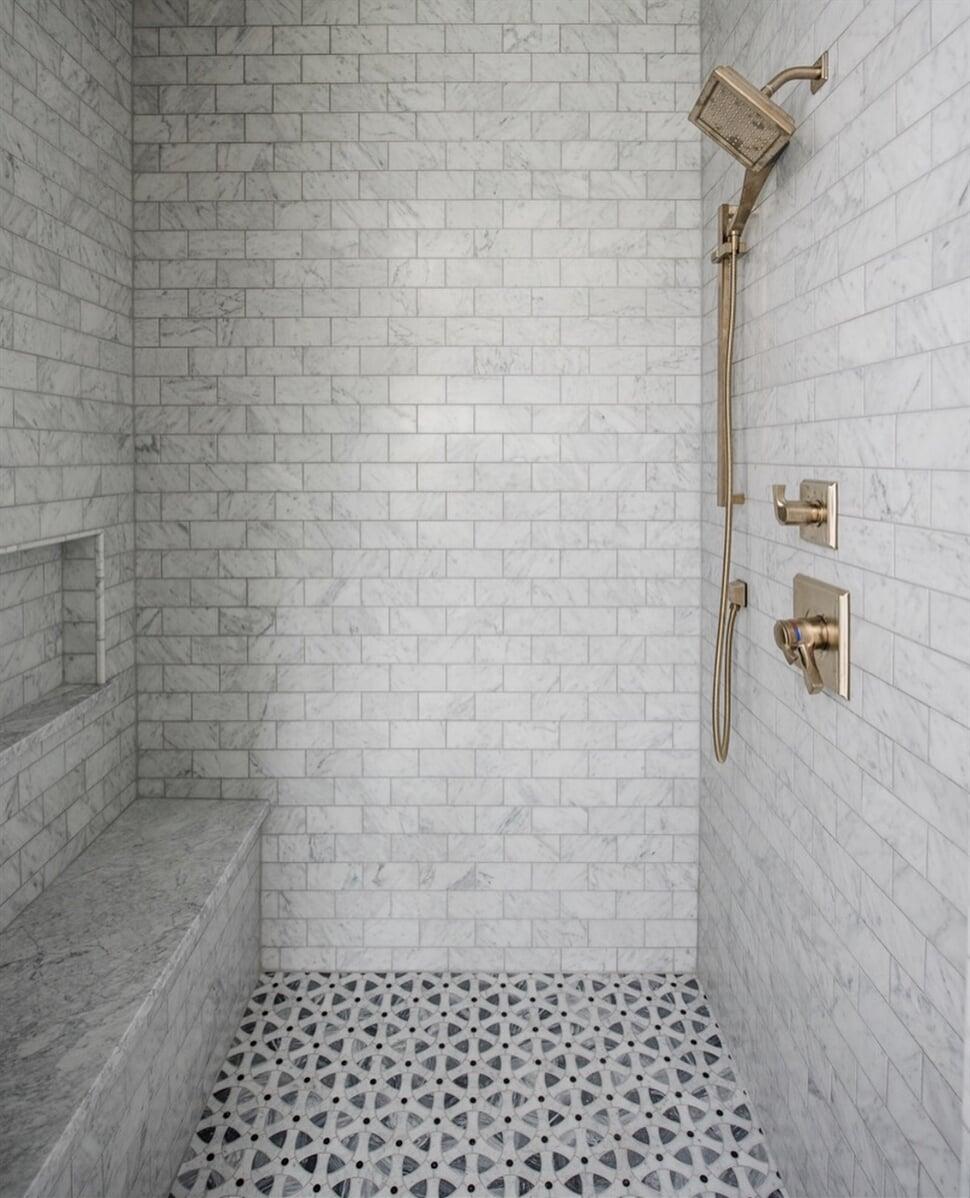 Shower Tile Installation in Dacula, GA