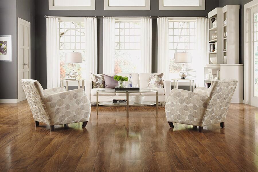 Hardwood floor installation in Atherton, CA from The Wood Floor Company