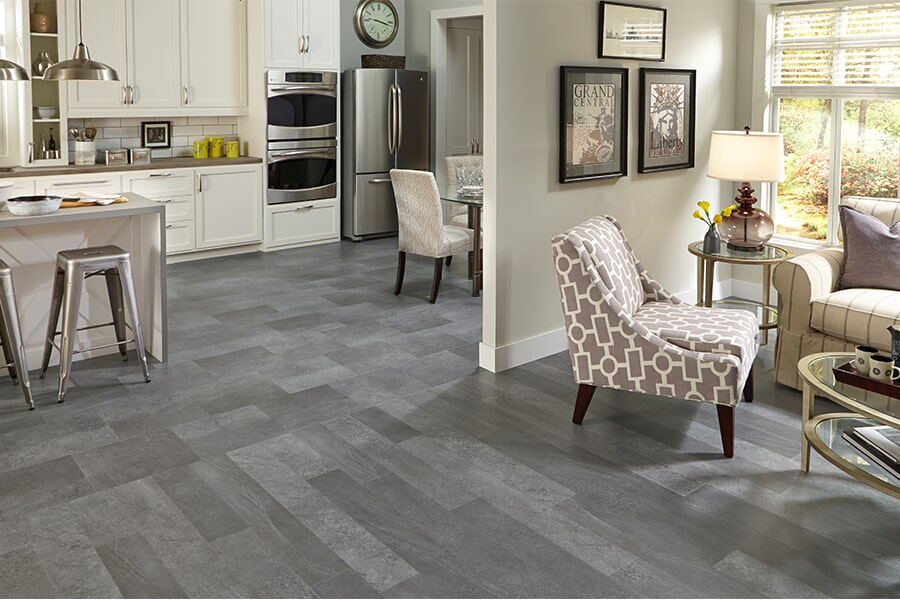 Luxury vinyl tile (LVT) flooring in Palo Alto, CA from The Wood Floor Company