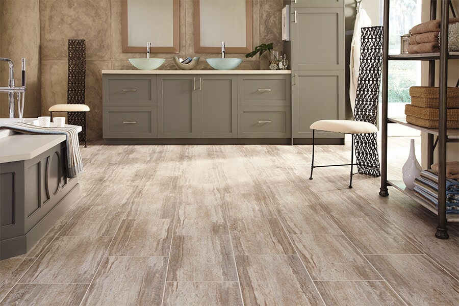 Wood look luxury vinyl plank flooring in San Jose, Ca from The Wood Floor Company