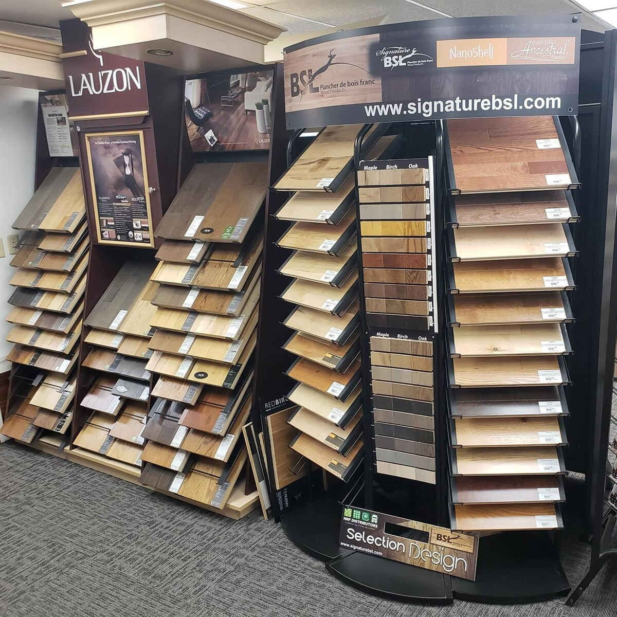 The Ontario Carpet Store showroom in Corning, NY has a lot to see!