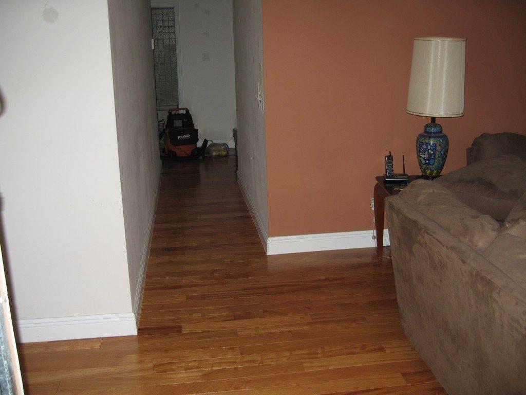 Medium tone wood-look laminate in Weston, FL from Daniel Flooring