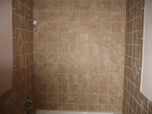 Classic tile shower installation in Plantation, FL from Daniel Flooring