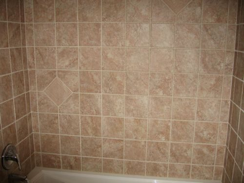 Classic look tile shower installation in Plantation, FL from Daniel Flooring