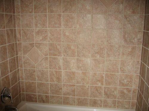 Classic look tile shower installation in Plantation, FL from Daniel Flooring
